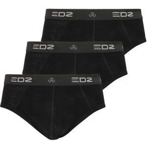 EDZ Merino 200gsm Mens Briefs Black (3 pack)