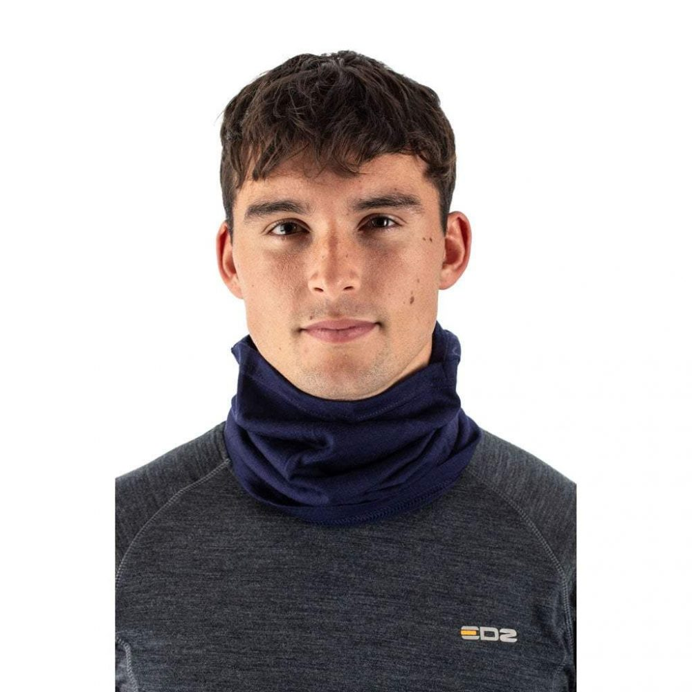 EDZ Merino Wool Tube-a-Clava Indigo Blue