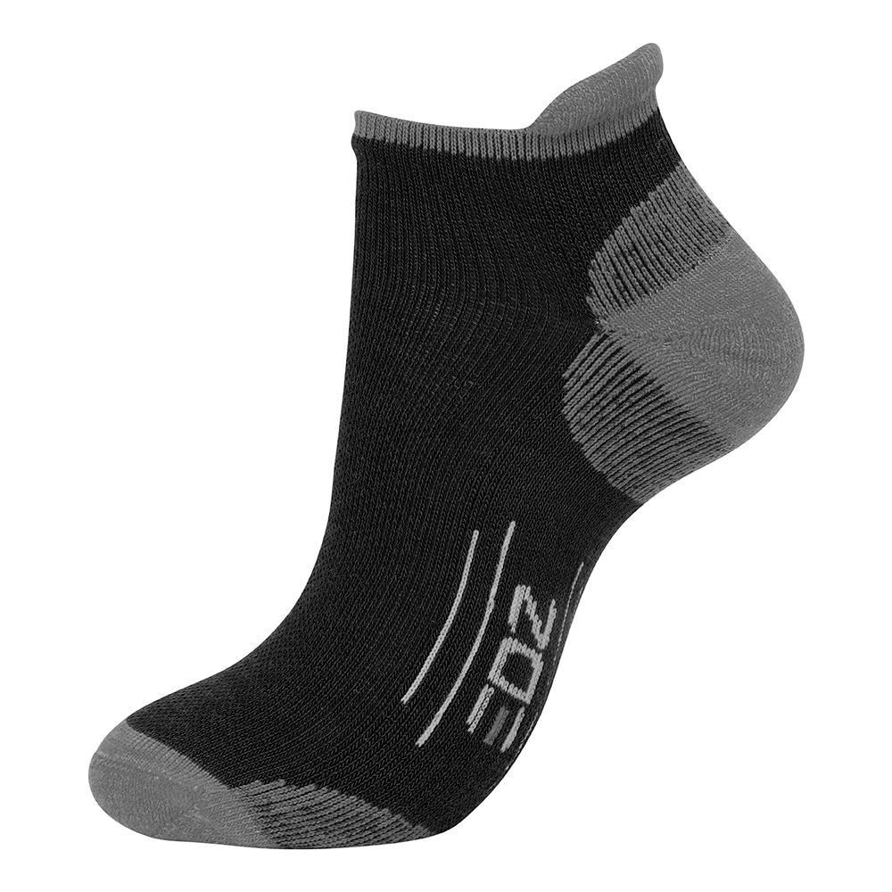 EDZ All Sport Merino Trainer Socks Black (4 pack) Mislabelled